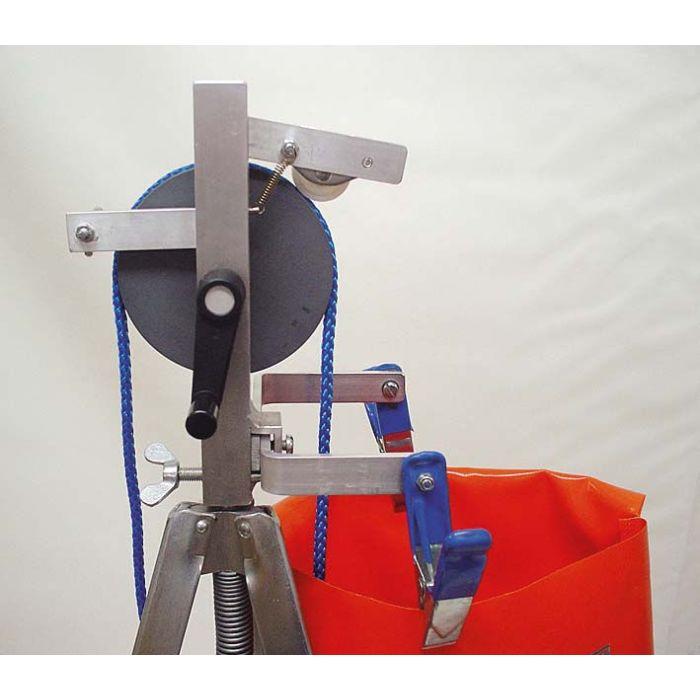 Leinen-Einlegegerät