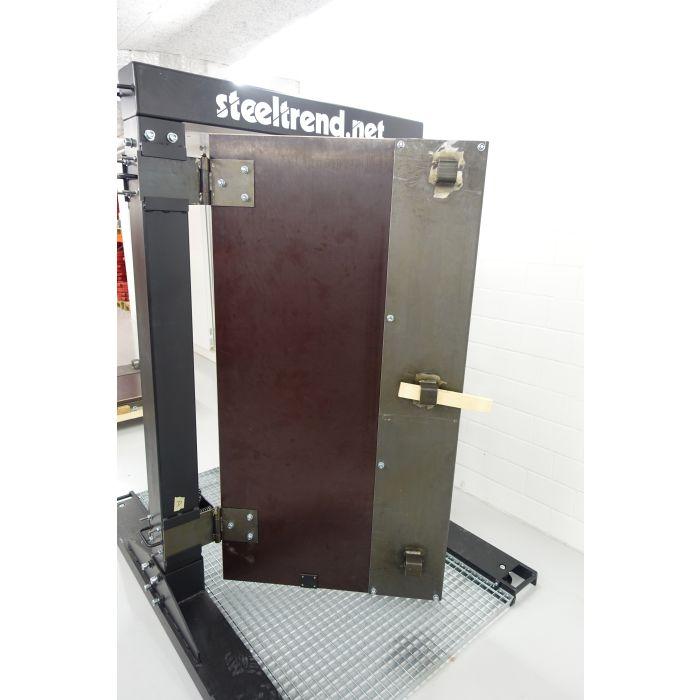 Porte d'entraînement – Ouverture forcée de portes