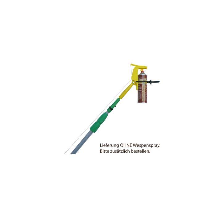 Canne télescopique avec support aérosol