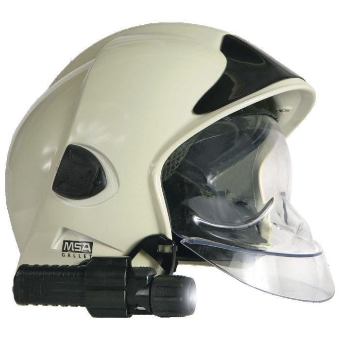 Helmlampenhalterung Gallet-Feuerwehrhelm Typ: F1 E/sl/rt