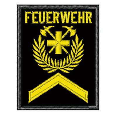 Gradabzeichen F1 Mit Aufschrift «Feuerwehr» Mit Klett