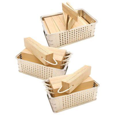 Formhölzer In Firebox® (Rw) In 3 Alukörben
