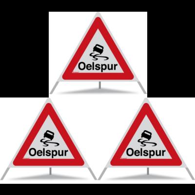 Triopan Faltsignal Oelspur