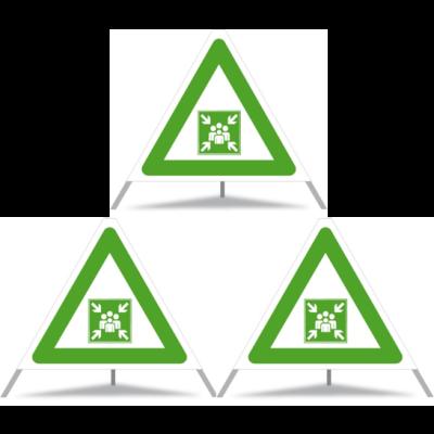 Signaux Pliables Div. Symboles