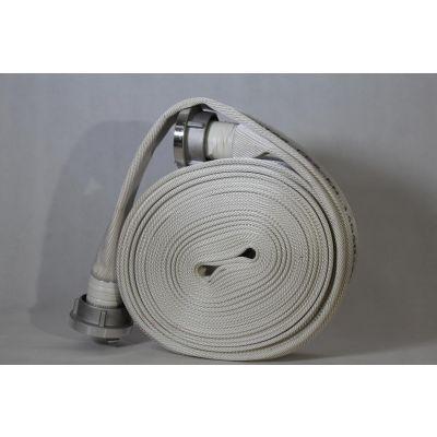 C52 Feuerwehrschlauch 20m SCHWEIZER, weiß
