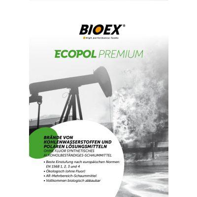 Ecopol Premium, agent moussant résistant à l'alcool, exempt de fluor