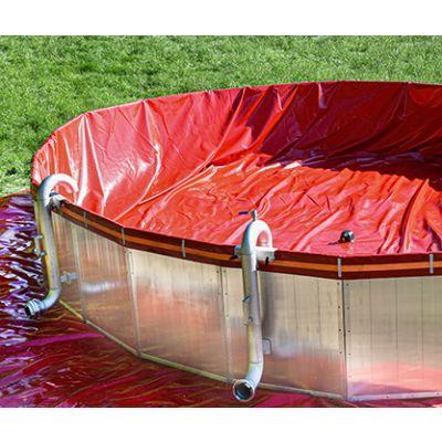Bassin à plaques segmentées 50/150-W
