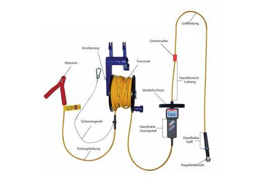 Spannungsprüfer für Hochwasser MultiSafe DSP-HW 2