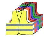 Funktionskennzeichnungsweste Inkl. Brust- und Rückenaufdruck zweizeilig