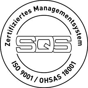 Brandschutz Ettiswil ISO 9001 Zertifikat