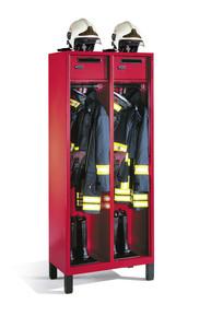 Garderobes pour sapeurs-pompiers