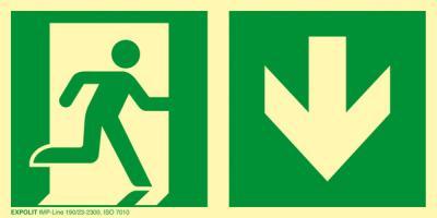 Rettungszeichen Grün Nach Iso 7010