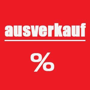 Ausverkauf %