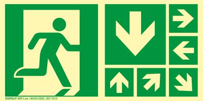 Rettungsschilder - ISO 7010