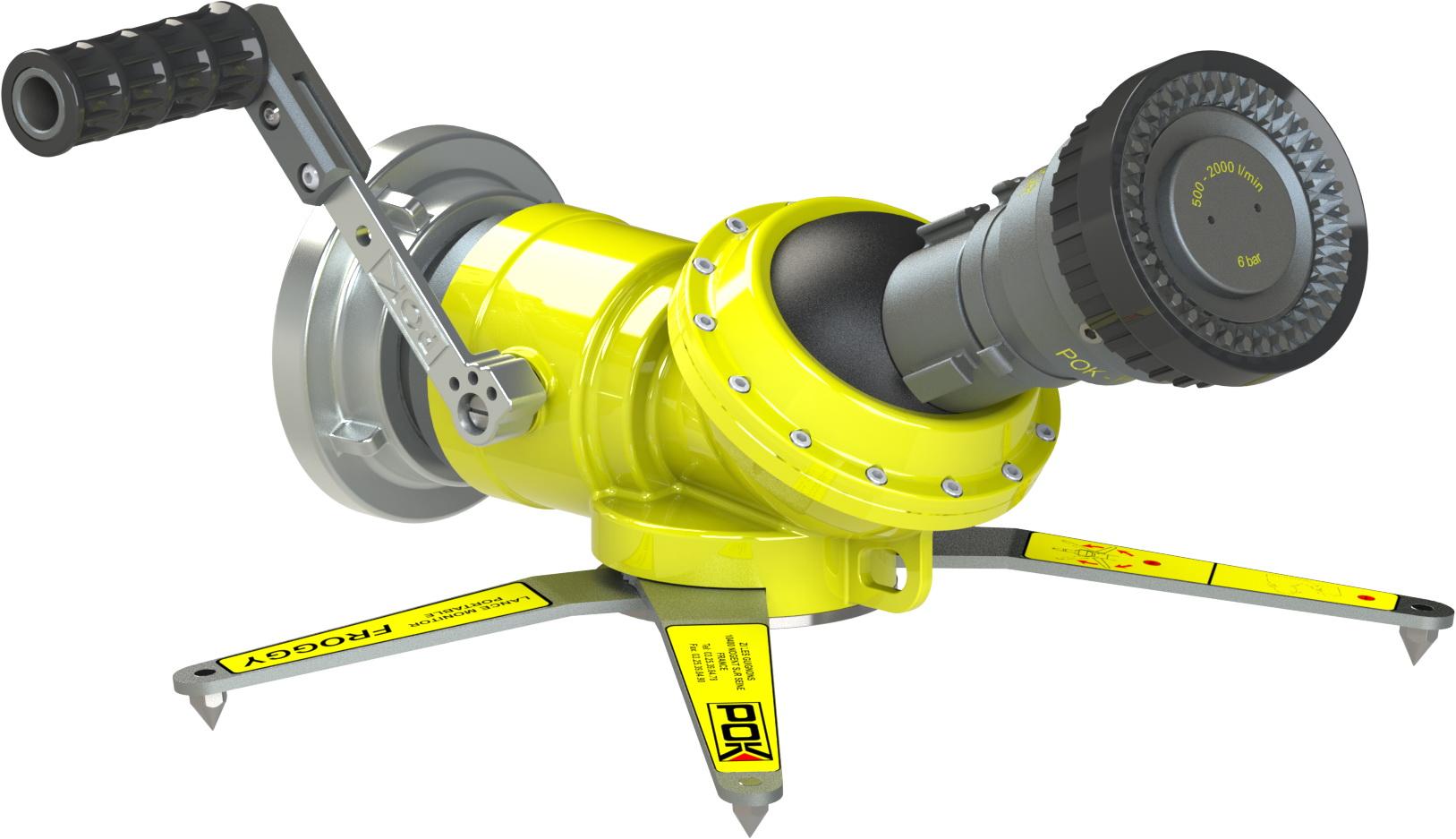 Froggy Tactical - Tragbarer Wasserwerfer 1200