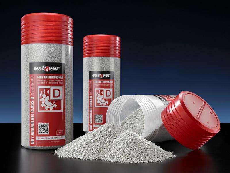 Extover® Feuerlöschgranulat 4 Liter Kunststoffröhre