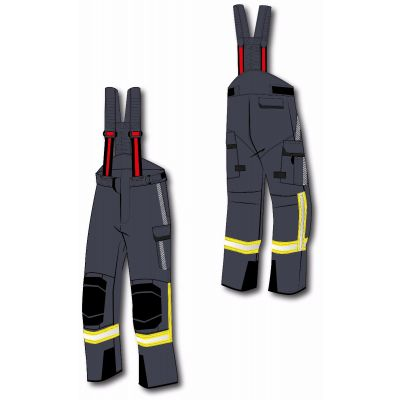 Pantalon de protection incendie ULTIMATE RSK, segmenté