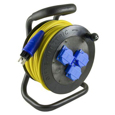 Kabelrollen Hartgummi Typ 501 Mit Thermoschutz