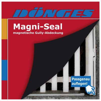 Magnetische Schachtabdeckung