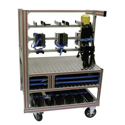 Rollcontainer «Atemschutz» Typ 2