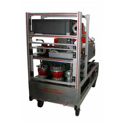 Container Roulant «Motopompe»