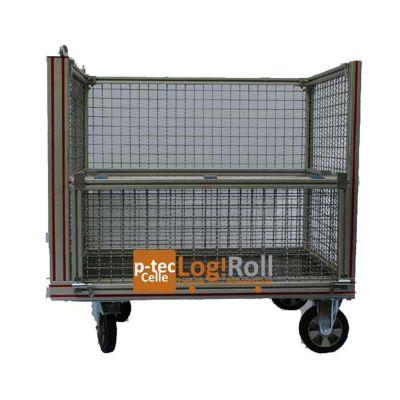 Container Roulant «Boîte Grillagée»