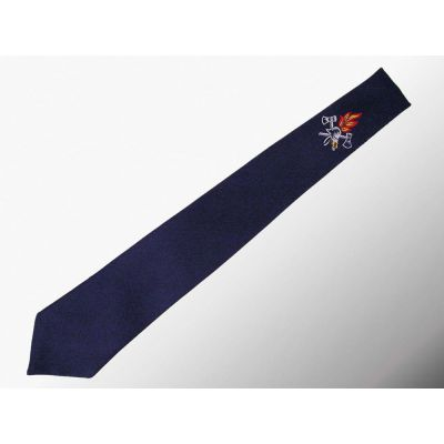 Krawatte Typ Feuerwehr Mit Feuerwehr-Abzeichen