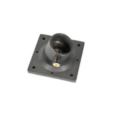 PARATECH Kopf-/Bodenplatte 150x150 mit Kugelgelenk