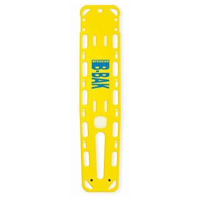 Spencer Spineboard B-Bak mit Pins gelb