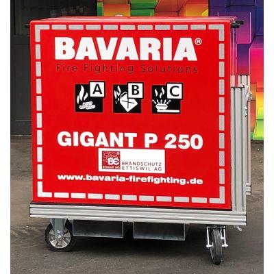 Containeur d'extinction GIGANT P250