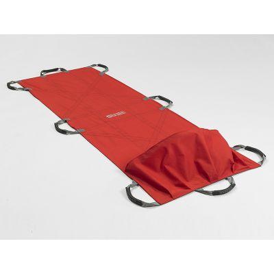 Drap de sauvetage et de transport RTPF avec sac pour les pieds