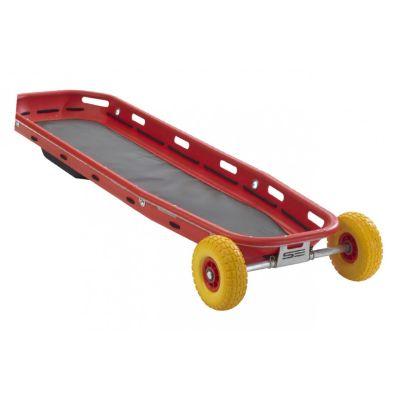 Panier de transport CARAPACE avec roues amovibles