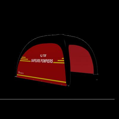 Tente d'intervention X GLOO 'Sapeurs-pompiers 118'